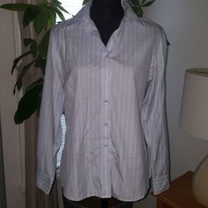 Lands End button down long-sleeve shirt